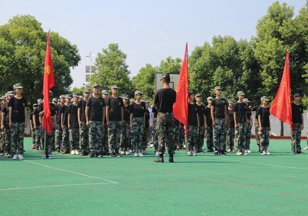 2018级学生军训照片